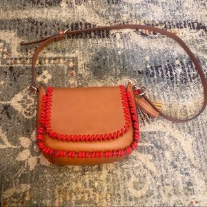 Steve Madden | Brown Purse Red Rope